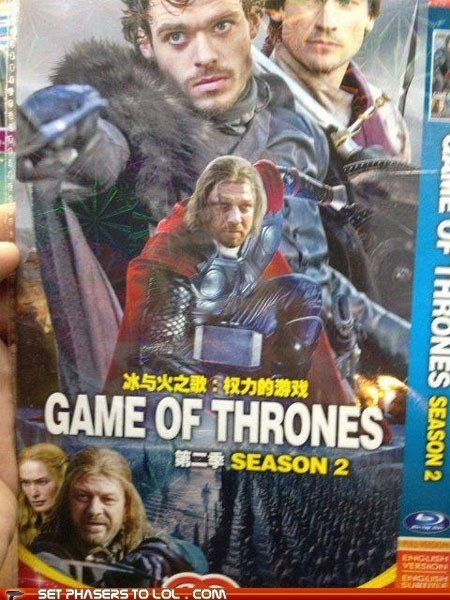 bootleg Boromir China DVD Game of Thrones ned stark sean bean seems legit wrong