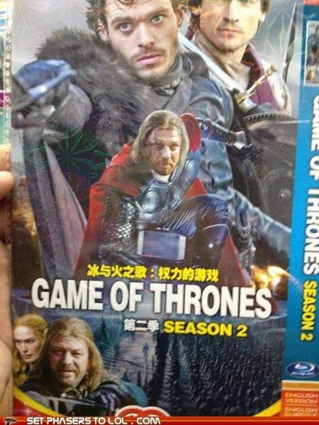 bootleg Boromir China DVD Game of Thrones ned stark sean bean seems legit wrong - 6280193792
