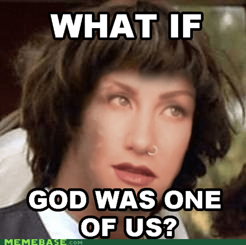 conspiracy keanu god joan osborne one of us - 6280221440