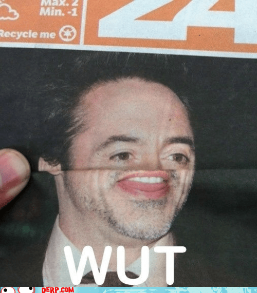 derp,magazine,robert downey jr