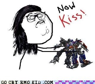 dubstep,in a nutshell,now kiss,transformers