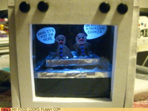 art cookies gingerbread oven sculpture talking - 6280557056