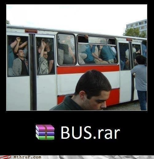 rar .zip bus bus.rar compressed file cramped cramped bus Hall of Fame metro metro bus packed packed bus public transit tram WINRAR zip zip folder