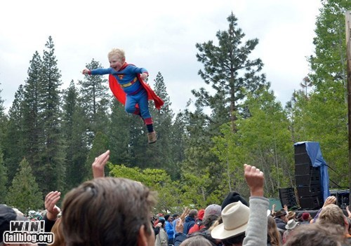 concert kids are awesome superman whee - 6281228288