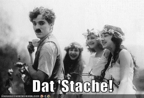 Dat 'Stache!
