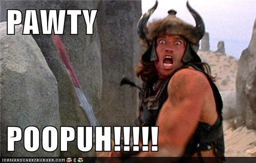 actor Arnold Schwarzenegger celeb Conan the Barbarian funny - 6281411584