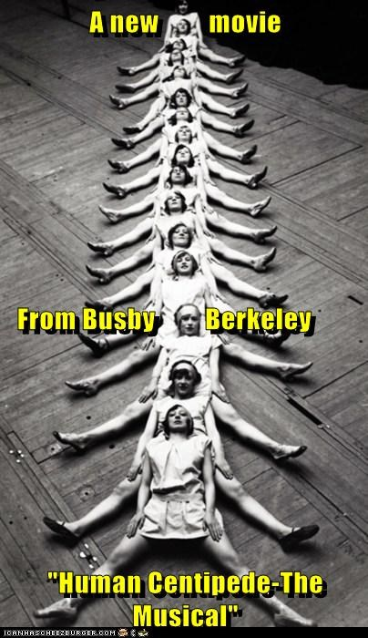 busby berkeley,dance,human centipede,musical,Photo