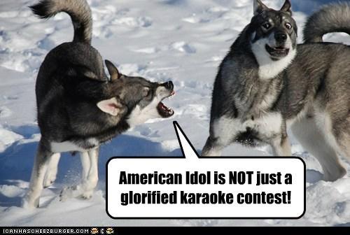 American Idol is NOT just a glorified karaoke contest!