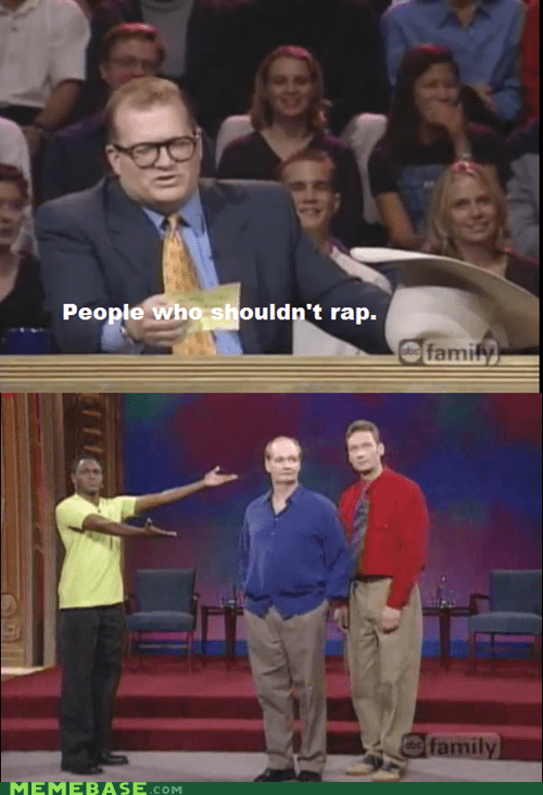 colin mochrie drew carey rap ryan stiles TV whose line is it anyway - 6282180864