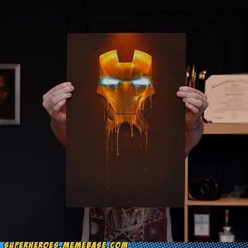 alchemy Awesome Art ironman paint - 6282386176
