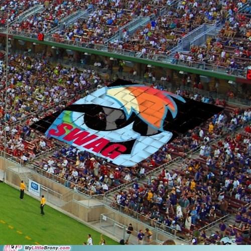 rainbow dash soccer stadium swag the internets - 6282578176