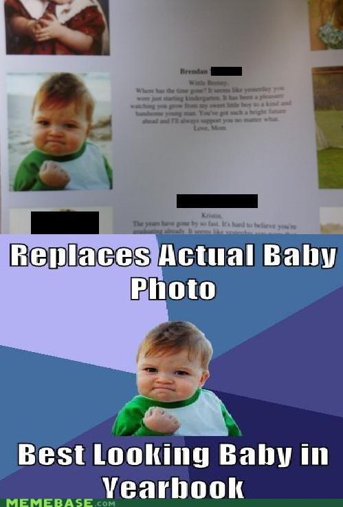 baby photo success kid weird yearbook - 6282909184