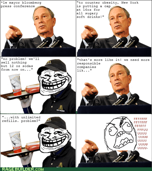 fu guy,McDonald's,new york,Rage Comics,soda