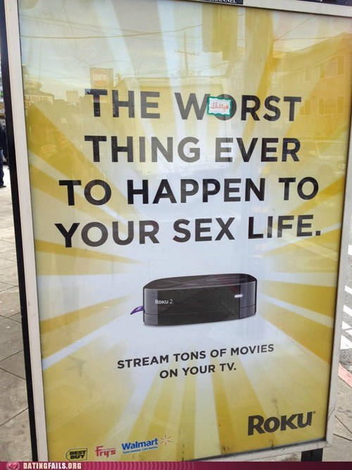 bad advertising DVR sex life worst thing to happen - 6283216896