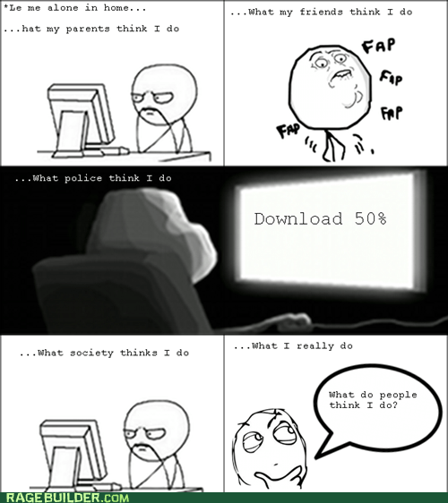 faptimes forever alone Rage Comics what people think i do - 6283221504