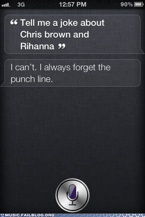 chris brown iphone phone rihanna siri - 6283406848