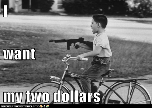 better off dead bike gun kid two dollars - 6283421696