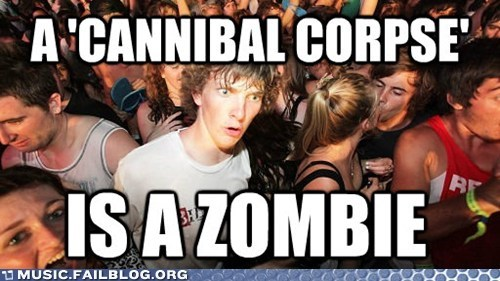 cannibal corpse death metal metal zombie - 6283442432