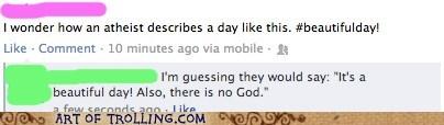 atheism facebook god Memes religion - 6283520256