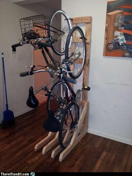 bicycle bicycle rack bike bike rack rack - 6283662848