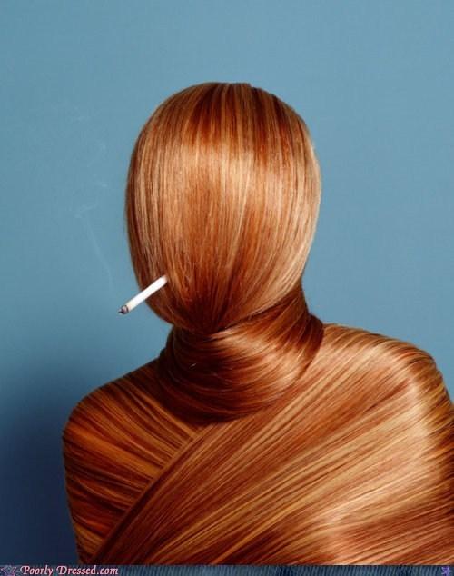 cigarettes fashion hair smoking - 6283677696