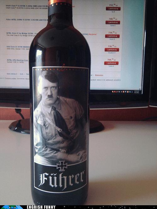 adolf hitler,fuhrer,hitler,italian,italian wine,Italy,red wine,wine