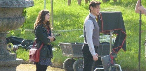doctor who set pics