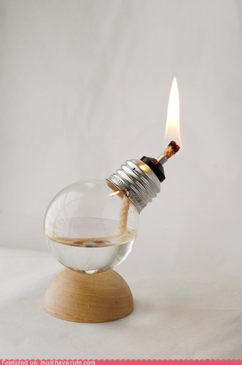 fire flame lamp light light bulb oil