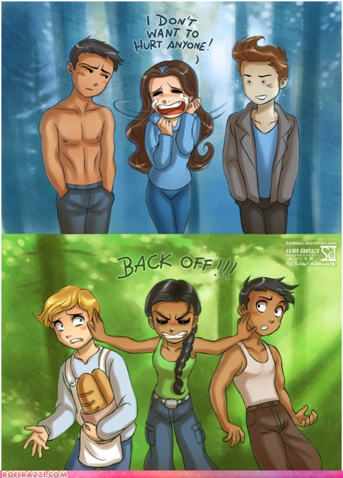 art funny Movie hunger games twilight - 6283801856