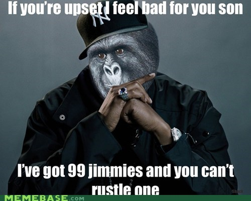 99 problems Jay Z jimmies Memes rustle - 6283839232