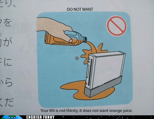 orange juice Sunny D Sunny Delight wii - 6283880192