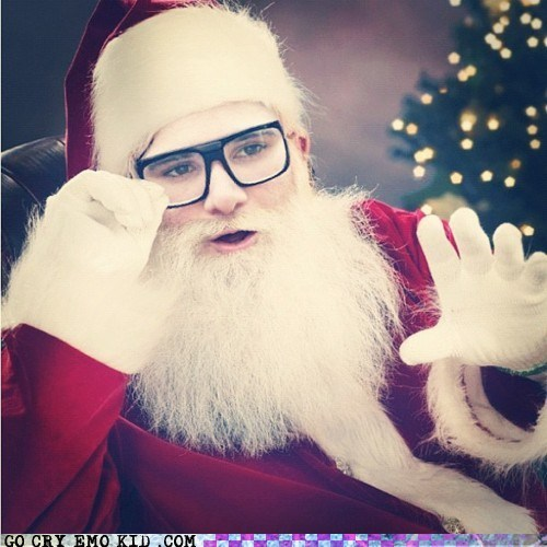 dubstep merry christmas Music santa skrillex weird kid - 6283884544