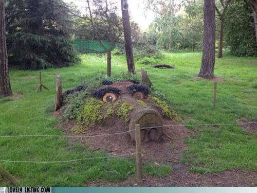 art,grass,troll,woods,yard
