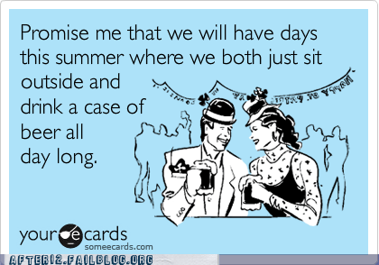 case of beer ecard Hall of Fame promise me summer summer nights - 6284065280