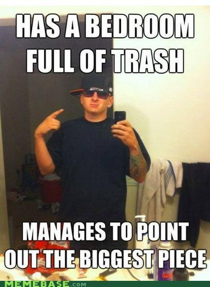 Memes piece scumbag trash white - 6284094208