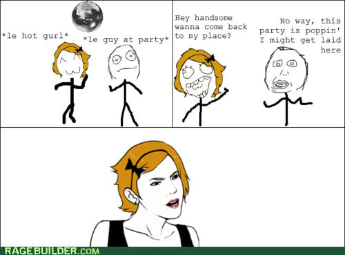 Party Rage Comics sexytimes wtf - 6284105984