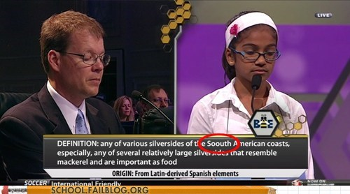 national spelling bee soouth american south american too much irony typos - 6284120832
