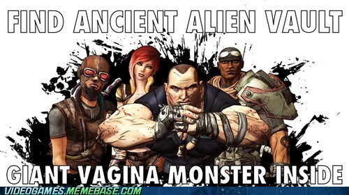 alien vault bad luck best of week borderlands ending meme - 6284131840