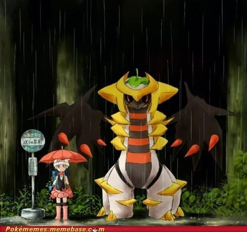 best of week crossover giratina iconic my neighbor totoro - 6284155392