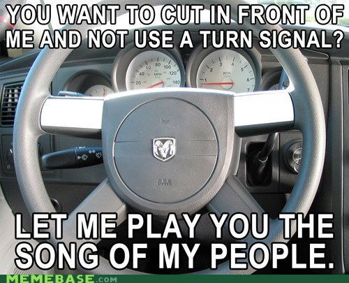 car driving horn Memes song of my people - 6284190464