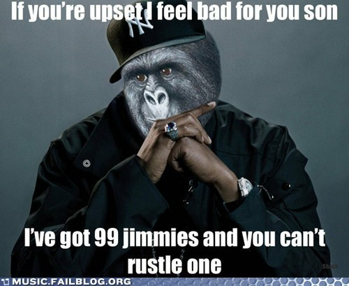 99 problems hip hop Jay Z jimmies rap rustled my jimmies