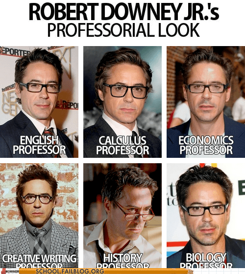 multi-talented professor robert downey jr - 6284449024