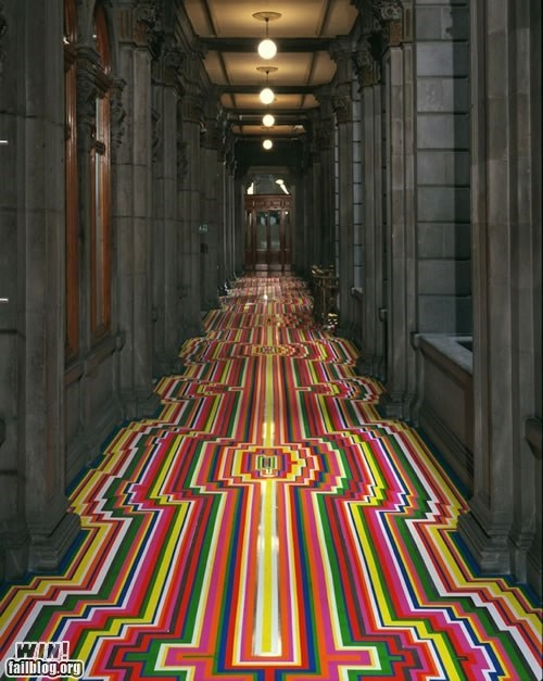 art decoration floor tape