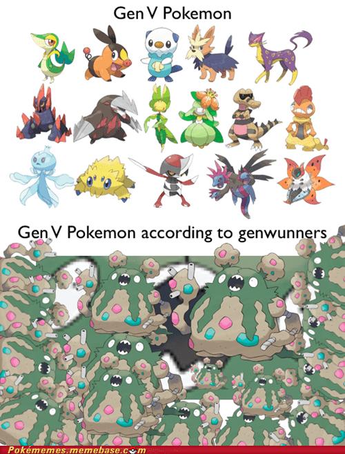 garbodor gen V genluvvers genwunners the internets - 6284845568