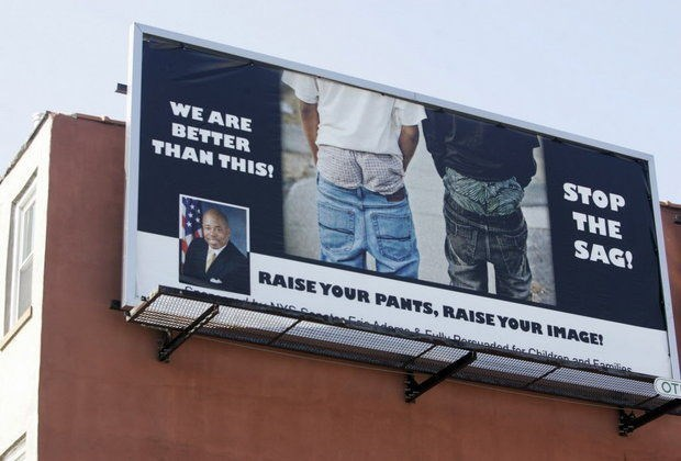 FAIL jimmy fallon saggy pants model fashion show trump mini skirt trip fall - 628485