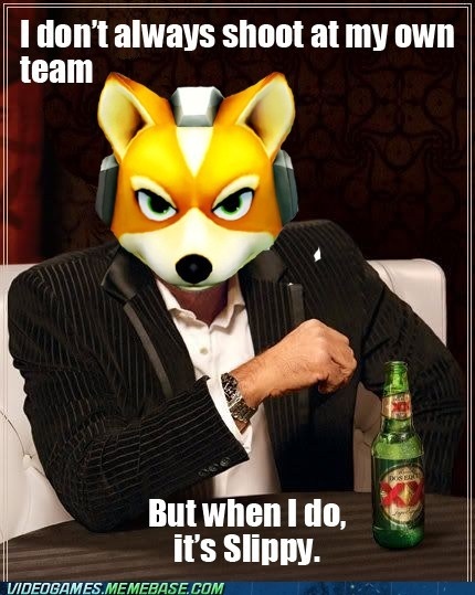 falco meme slippy Star Fox the most interesting man in the world - 6284880640