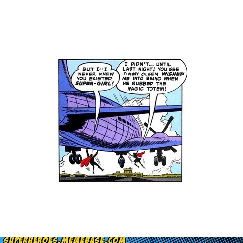 jimmy olsen Straight off the Straight off the Page supergirl superman weird - 6285085440