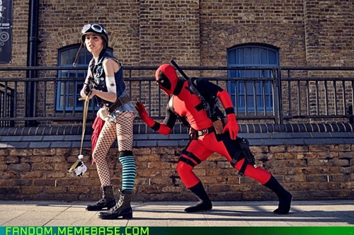 comics cosplay deadpool tank girl - 6285115136