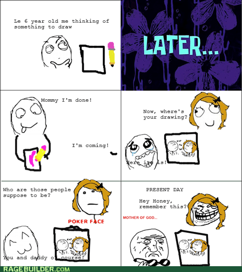 mother of god parenting Rage Comics sexytimes - 6285405696