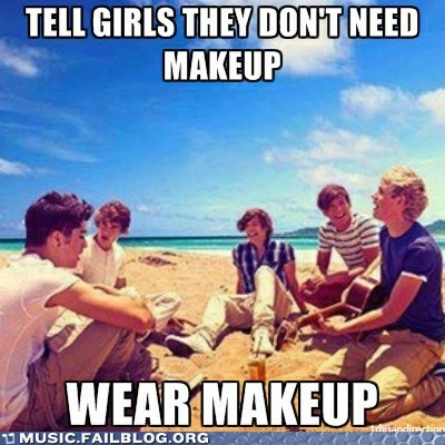 hypocrite,makeup,one direction,pop,what makes you beautiful